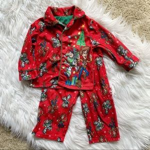 Toy Story Christmas Boys Pj's -18 months